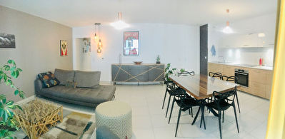 A VENDRE-MONTPELLIER-PORT MARIANNE-APPARTEMENT-4 PIECES-  TERRASSE.