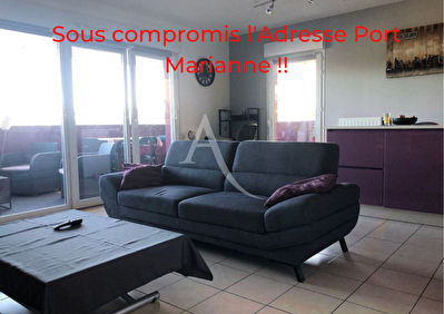 A VENDRE-MONTPELLIER-PORT MARIANNE-APPARTEMENT-3 PIECES- TERRASSE .